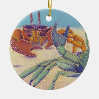 Crabs Ceramic Ornament