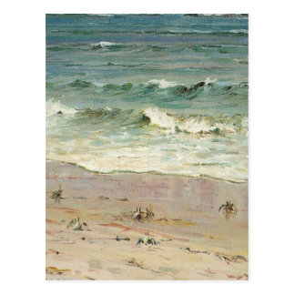 Crabs on the Beach - Howard Hitchcock Postcard
