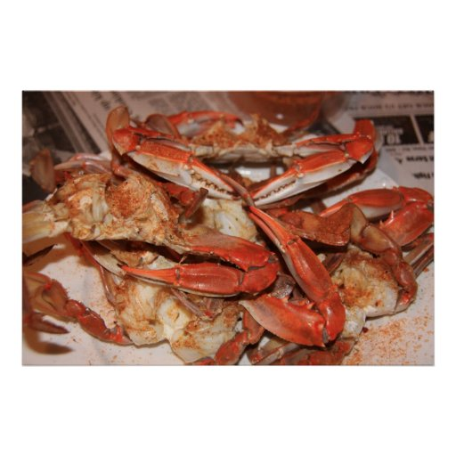 Crabs & the Newspaper Posters