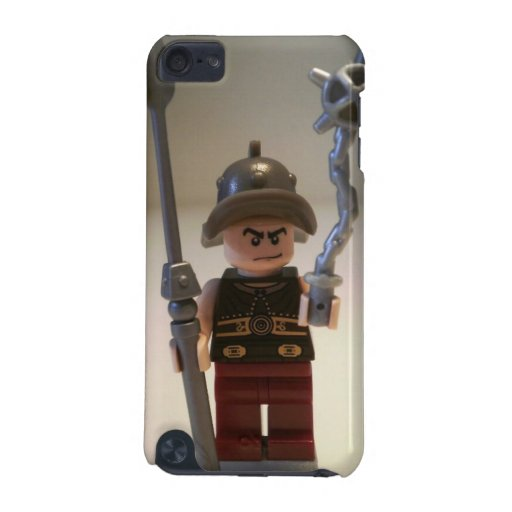 'Cracalla the Gladiator' Custom Minifigure iPod Touch (5th Generation) Covers