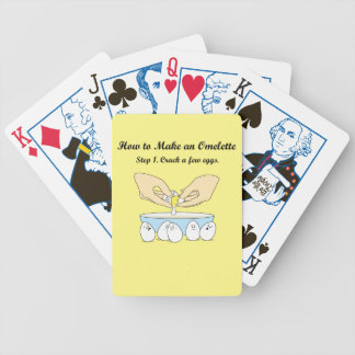Crack A Few Eggs Bicycle Playing Cards