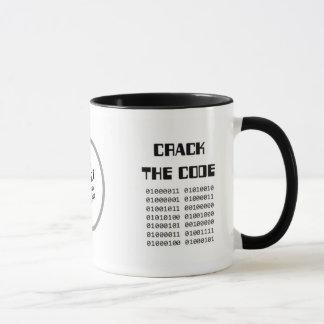 Crack the Code mug