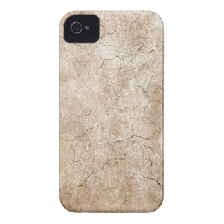 Cracked Aged and Rough Brown Vintage Texture iPhone 4 Case-Mate Case