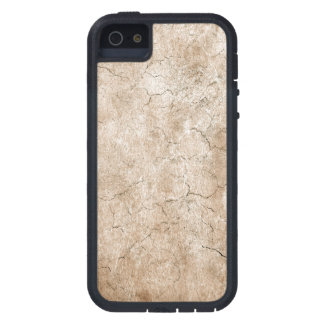 Cracked Aged and Rough Brown Vintage Texture iPhone 5/5S Cover