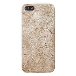 Cracked Aged and Rough Brown Vintage Texture iPhone 5 Case