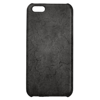 Cracked Aged and Rough Dark Vintage Texture Case For iPhone 5C