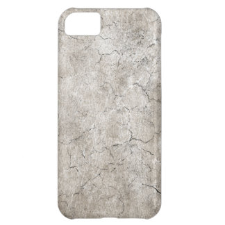 Cracked Aged and Rough Gray Vintage Texture iPhone 5C Case