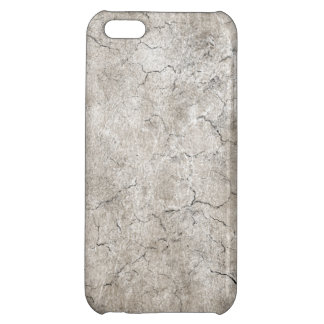 Cracked Aged and Rough Gray Vintage Texture iPhone 5C Cover