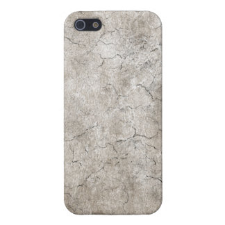 Cracked Aged and Rough Gray Vintage Texture Cover For iPhone 5/5S