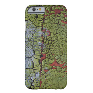 Cracked and peeling grunge paint barely there iPhone 6 case