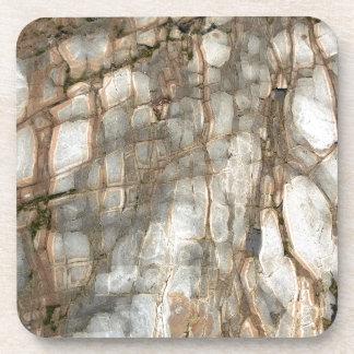 Cracked Beach Stone Coaster