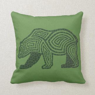 Cracked Bear | Cracked Wolf Cushion