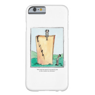 CRACKED cartoon by Ellen Elliott Barely There iPhone 6 Case