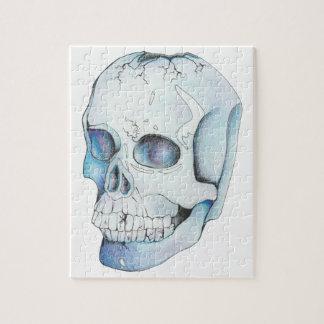 Cracked Crystal Skull Jigsaw Puzzle