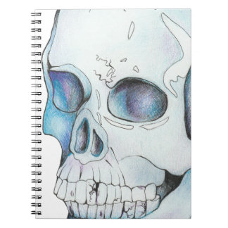 Cracked Crystal Skull Notebook