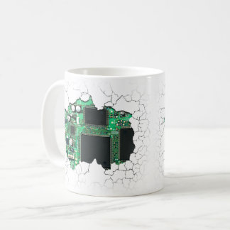 Cracked Cup Showing Circuit Board Inside v1