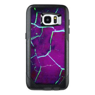 Cracked -Deep Purple OtterBox Samsung Galaxy S7 Edge Case