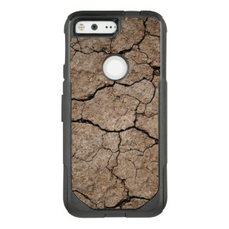 Cracked Dried Mud OtterBox Commuter Google Pixel Case