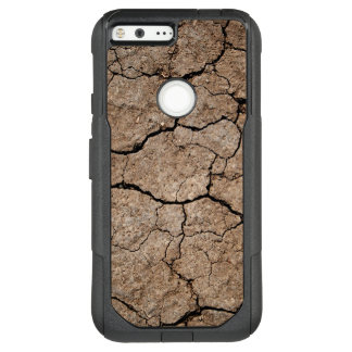 Cracked Dried Mud OtterBox Commuter Google Pixel XL Case