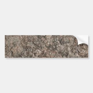 Cracked Dry Desert Ground Floor Texture Background Bumper Sticker