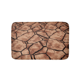 Cracked Earth Bath Mat