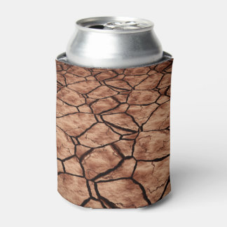 Cracked Earth Can Cooler