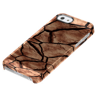 Cracked Earth Clear iPhone SE/5/5s Case