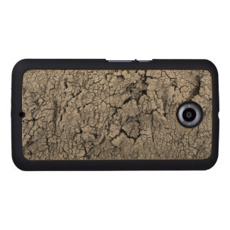 Cracked Earth Cool Texture Wood Phone Case