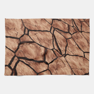 Cracked Earth Kitchen Towel