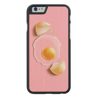 Cracked Egg Carved® Maple iPhone 6 Case