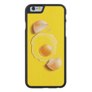 Cracked Egg Carved® Maple iPhone 6 Slim Case