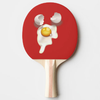 cracked egg ping pong paddle