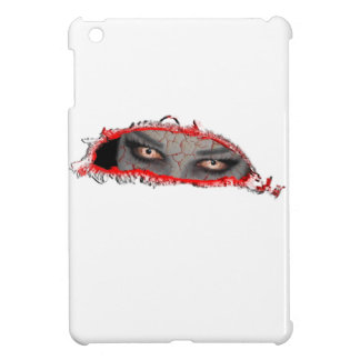 cracked eyes iPad mini cover