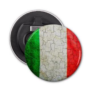 Cracked Italy flag Bottle Opener