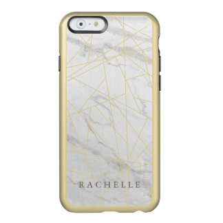 Cracked Marble phone case Incipio Feather® Shine iPhone 6 Case