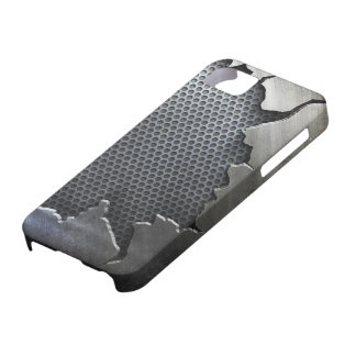 Cracked Metal iPhone 5,  Case For The iPhone 5