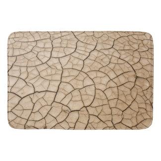 Cracked Mud Bath Mat