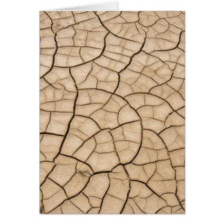 Cracked Mud Card