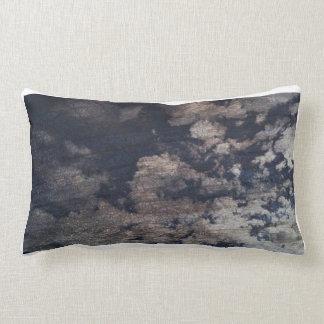 Cracked Painted Sky. Lumbar Cushion