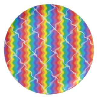Cracked Rainbow Plate