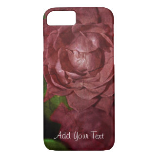 Cracked Red Rose by Shirley Taylor iPhone 8/7 Case