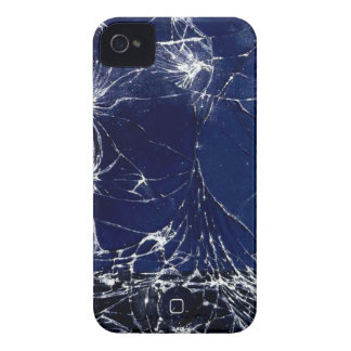 Cracked screen iPhone 4 Case-Mate case