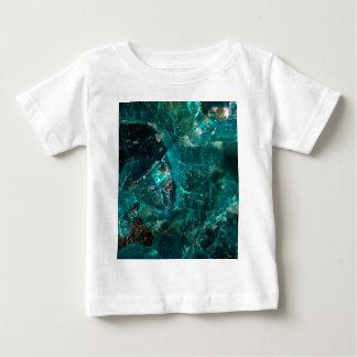 Cracked Teal Sugar Baby T-Shirt