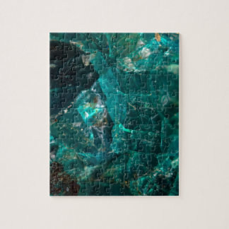 Cracked Teal Sugar Jigsaw Puzzle