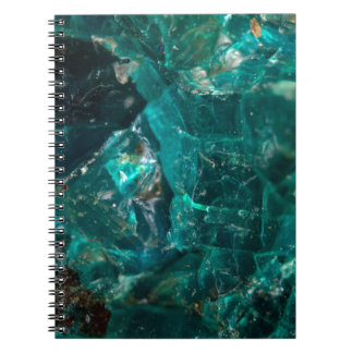 Cracked Teal Sugar Notebooks