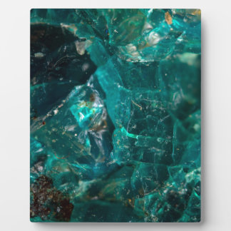 Cracked Teal Sugar Photo Plaque