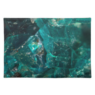 Cracked Teal Sugar Placemat