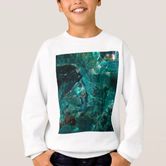 Cracked Teal Sugar Sweatshirt