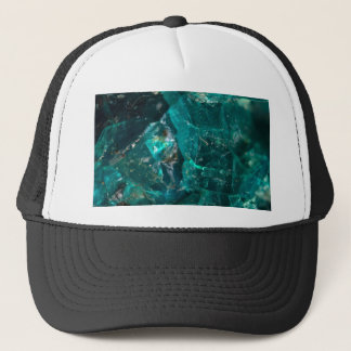 Cracked Teal Sugar Trucker Hat