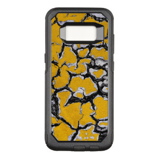 Cracked Yellow Road Paint OtterBox Commuter Samsung Galaxy S8 Case
